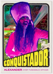 We saw these guys perform in Downtown LA last week and holy shit did they put on a great show. The Glittery Shaman Conquistador brings the hyper-funk like its nobody's business.